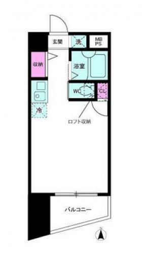 ロイヤルアメニティー新宿ビル:基準階図面