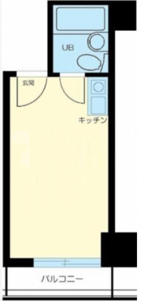 ルックハイツ新宿ビル:基準階図面