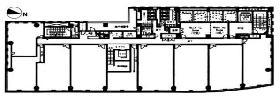 霞が関ビジネスセンター:基準階図面