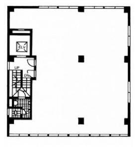 第二木津ビル:基準階図面