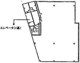 イドムコ中野ビル:基準階図面