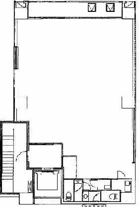 銀座1616ビル:基準階図面