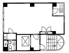 メビュウス高島:基準階図面