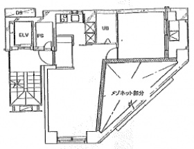 麻布十番ミレニアムタワー:基準階図面