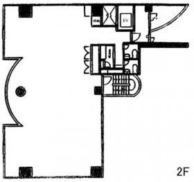 東銀座313ビル:基準階図面