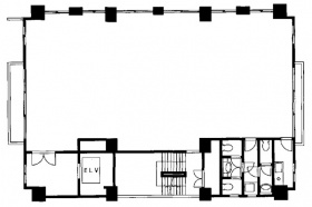 東京ベイサイドビル:基準階図面