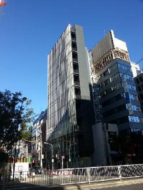 松竹倶楽部ビルの外観写真