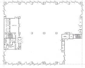 第3桜橋ビル:基準階図面