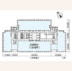 山王パークタワー:基準階図面