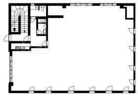 鵜の木ビル:基準階図面