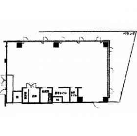 ストーク新宿:基準階図面