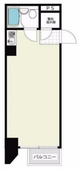 トーカン新宿キャステールビル:基準階図面