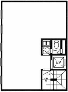 河野虎ノ門ビル:基準階図面