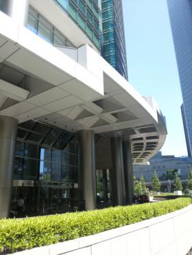 汐留シティセンターの内装