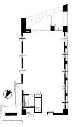 ラ・トゥール小石川ビル:基準階図面