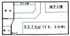 植木ビル:基準階図面