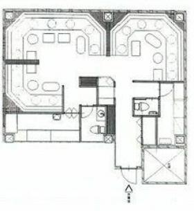 三経20ビル:基準階図面