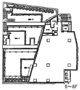 グリーンオーク高輪台:基準階図面