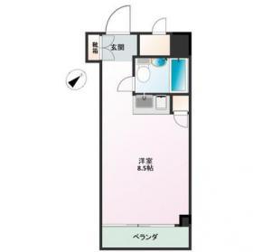 新宿グリーンプラザビル:基準階図面