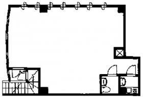 フラワービル:基準階図面
