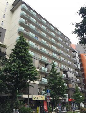 バラードハイム新宿渡辺ビルの外観写真
