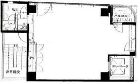 JP浜町ビル:基準階図面