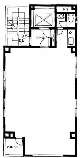 ES林ビル:基準階図面