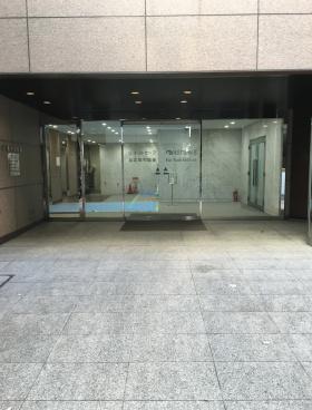 赤坂KSビルのエントランス