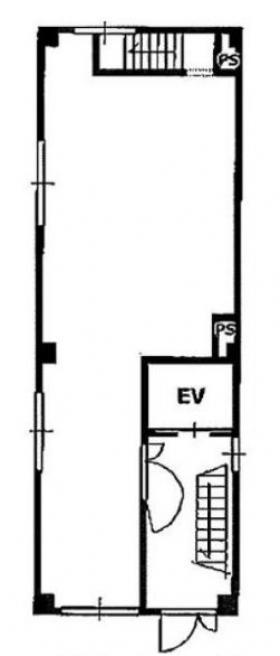 オフィスコオフィス馬喰町ビル:基準階図面