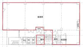 五反田ハタビル:基準階図面