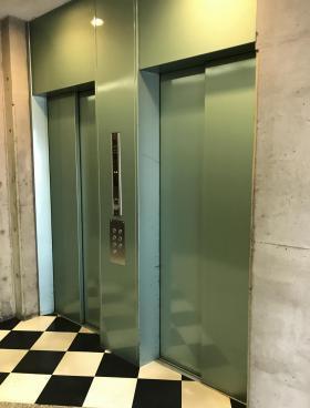 五反田ハタビルの内装