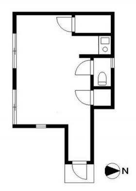 塚本ハウスビル:基準階図面