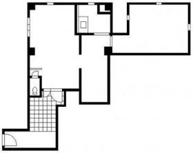 西山邸ビル:基準階図面