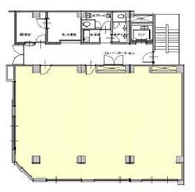 八重洲KHビル:基準階図面