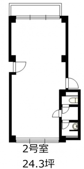 リッツパラシオビル:基準階図面