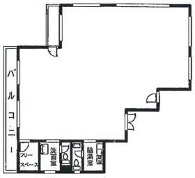 TSビル:基準階図面
