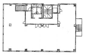 代々木コーポビル:基準階図面