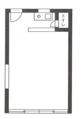 高橋ビル:基準階図面