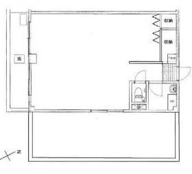 代々木ガーデンズビル:基準階図面
