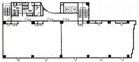 ビラージュ笹塚Ⅲビル:基準階図面