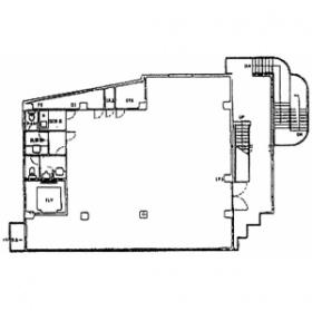 ベルプラザⅡ:基準階図面