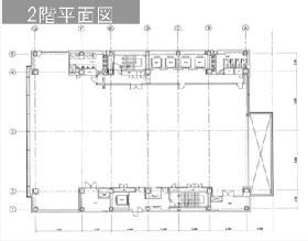 HSBCビルディング:基準階図面