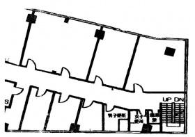 初台センタービル:基準階図面