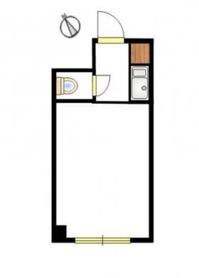 パークアヴエニユー新宿西ビル:基準階図面