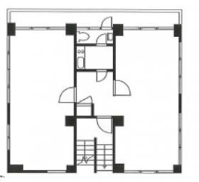 パインヒルⅠ:基準階図面