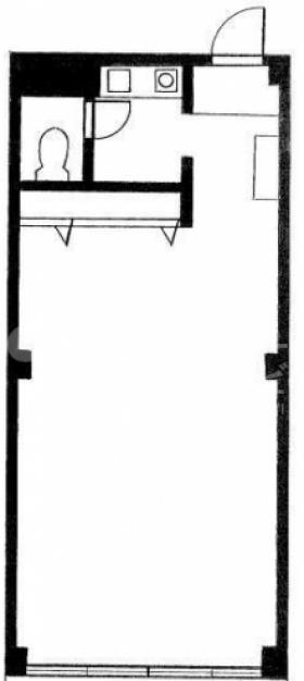 エルカーサビル:基準階図面