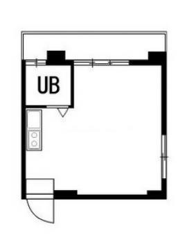 第2ヴイラ・アオヤマビル:基準階図面