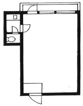 エビスマンション:基準階図面