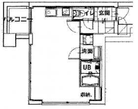 代官山ハウス:基準階図面
