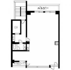 メディアパーク八島ビル:基準階図面